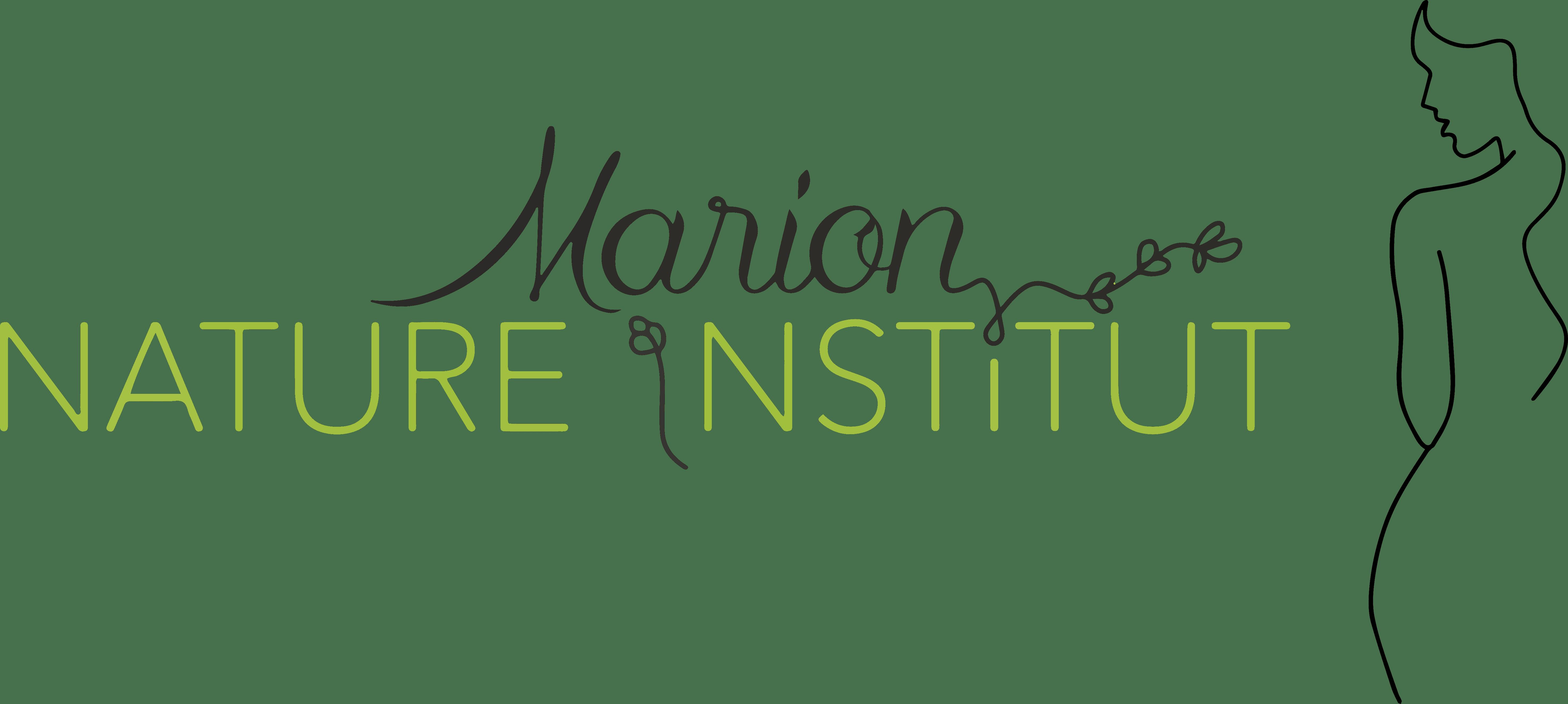 Logo Marion Nature Institut avec silhouette